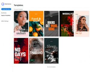 Google : un plugin WordPress pour créer des Web Stories
